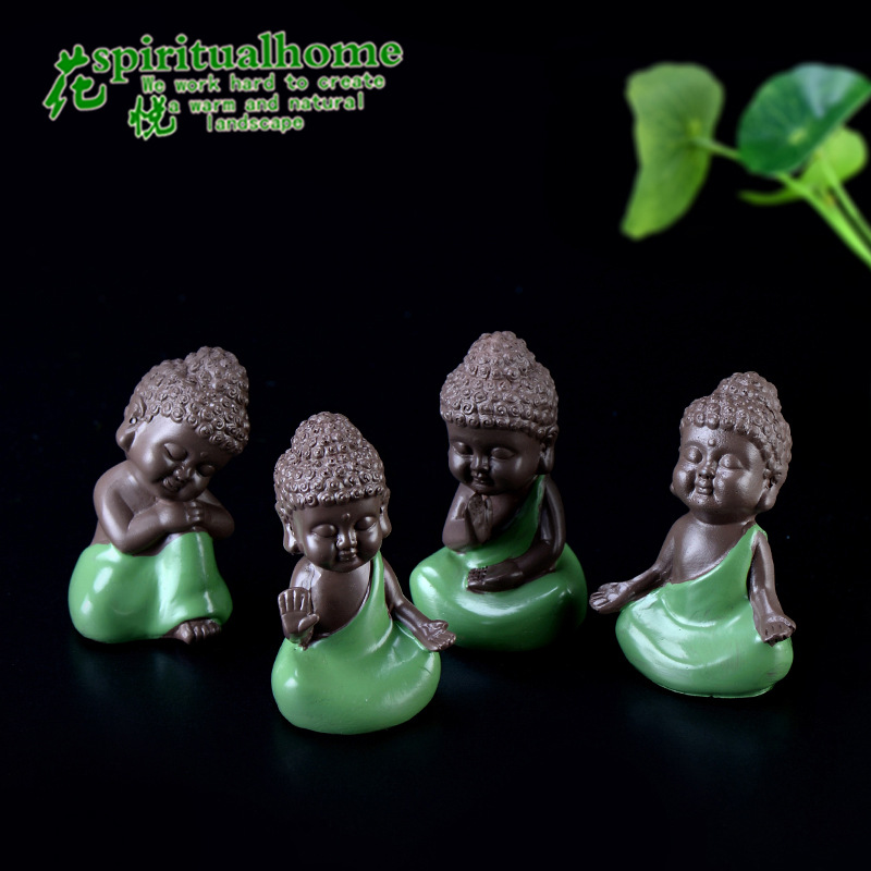 Eye-Catching Monk Ornaments for Car Decorations