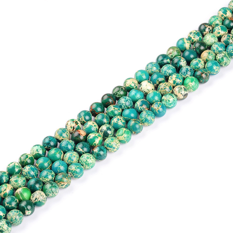 Bright Colored Beads String for DIY Bracelet Ideas