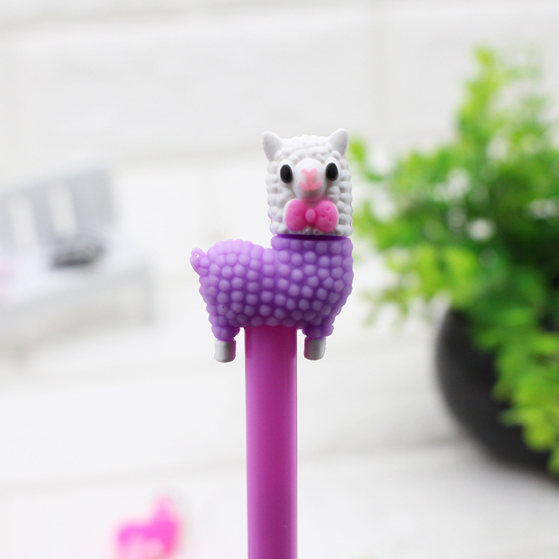 Adorable and Fine Plastic Gel Pen with Cute Designfor Everyday Use