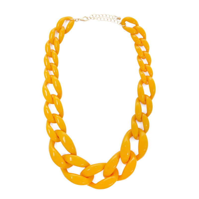 Extra Large Alloy Chain Necklace for Hip Hop Outfits
