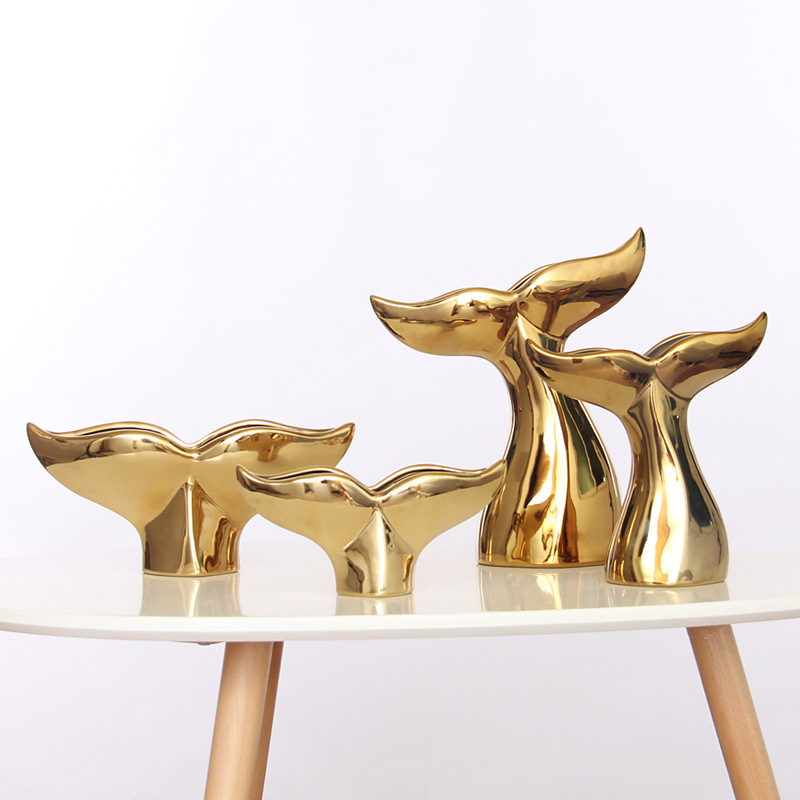 Whale's Tail Home Decor