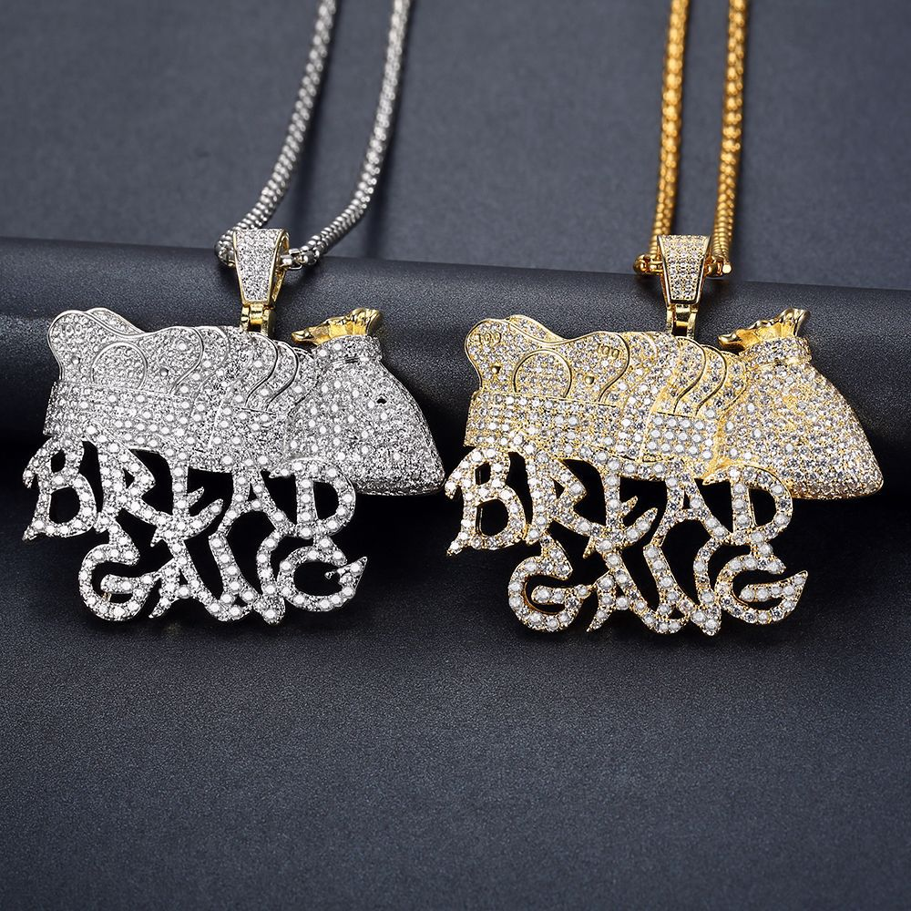 """""""Bread Gang"""" Crown Diamond Necklace for Unique Looks"""