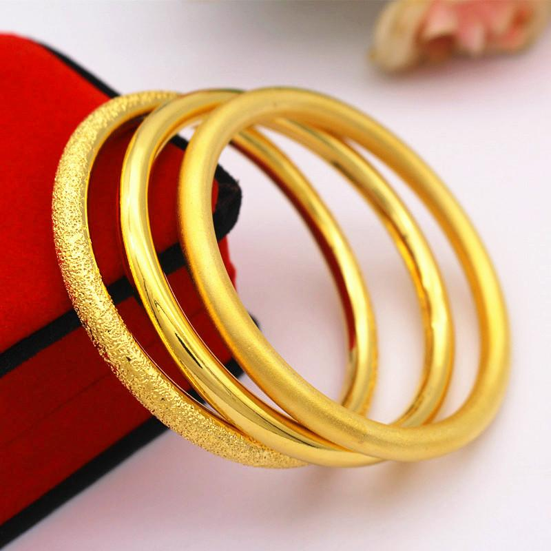 Gold Plated Classic Bangle