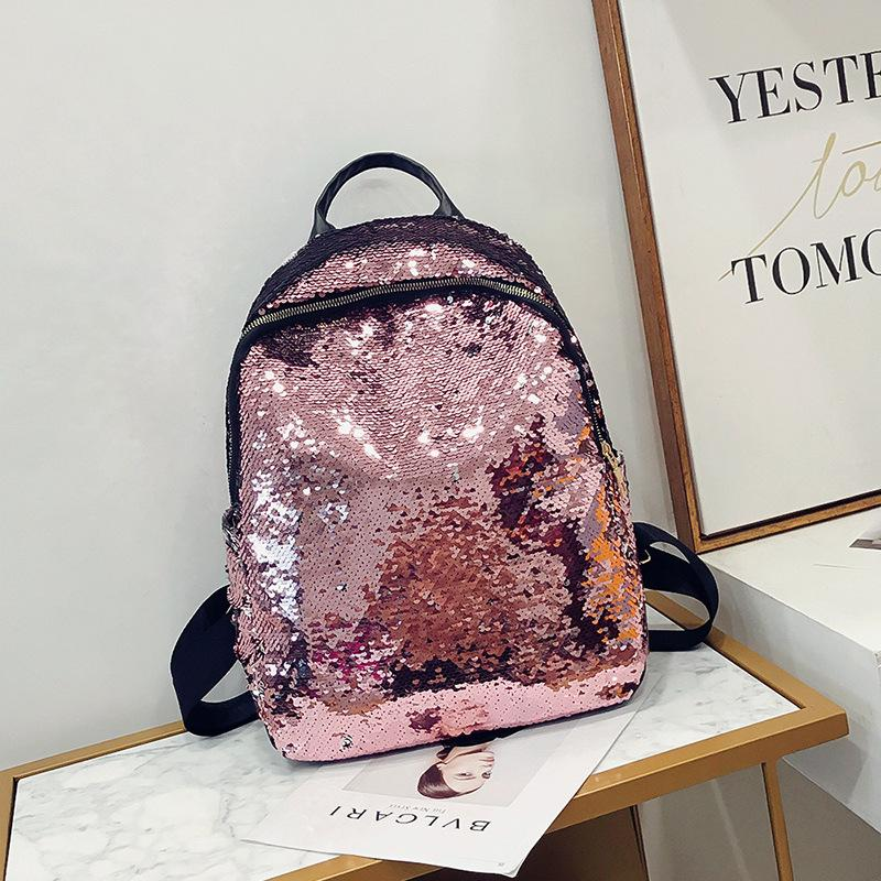 Sparkle Daily Sequin Backpack