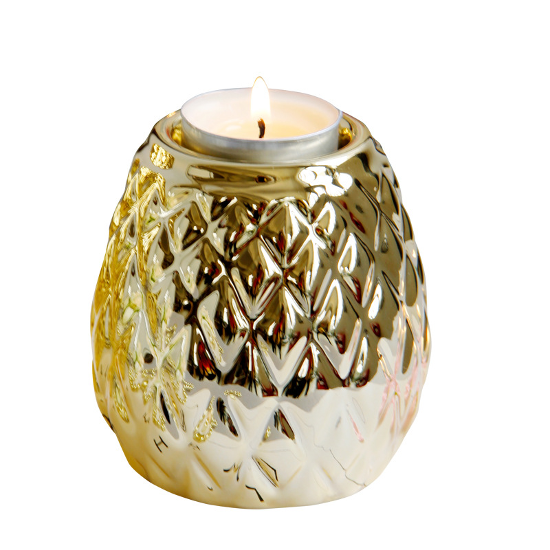 Princely Pineapple-Inspired Candle Holders for Tropical Homes