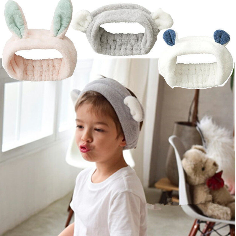Adorable Animal Ears Face Wash Headband for Keeping Hair Out of Your Face