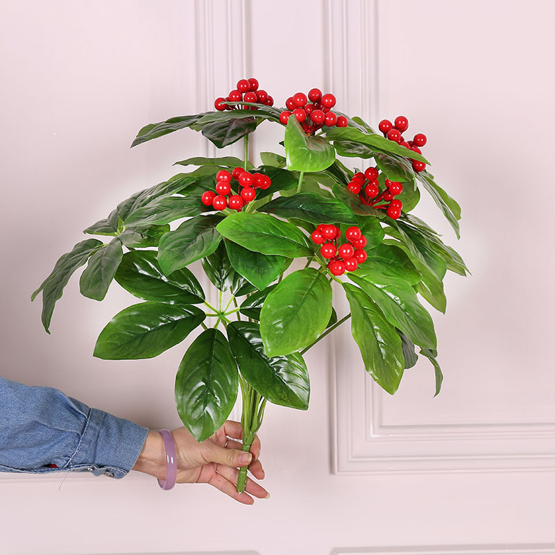 Artificial Mini Cherry Fruit Tree for Home Decor