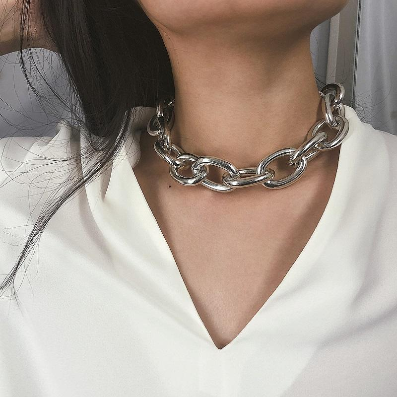 Over Sized Chain Necklace