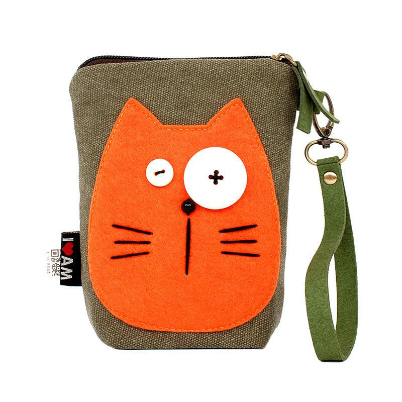 Cat Mobile Phone Bag