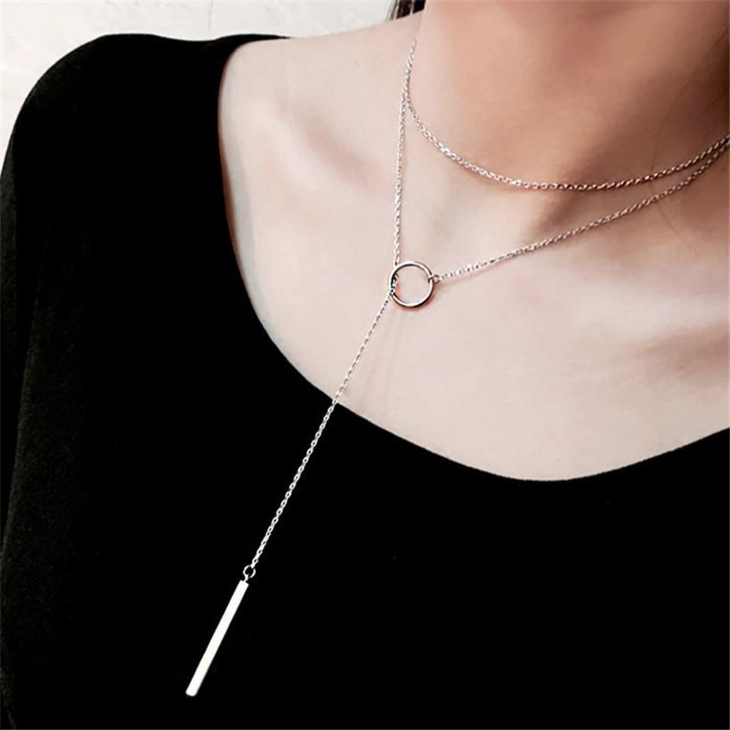 Lina Double Necklace