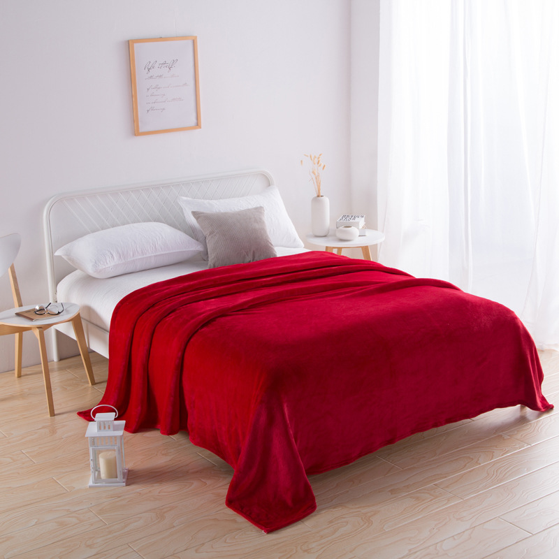 Lorean Colored Polyester Blanket