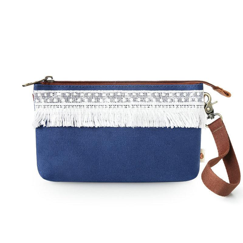 Laced Canvas Mobile Phone Bag