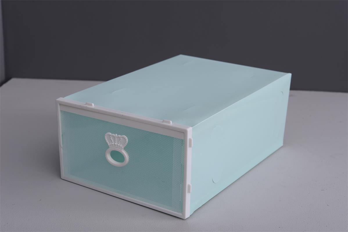 Durable Plastic Shoe Box for for Protection to Dust