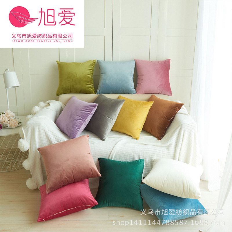 Light Colored Silk Throw Pillows for Sofas in Living Rooms