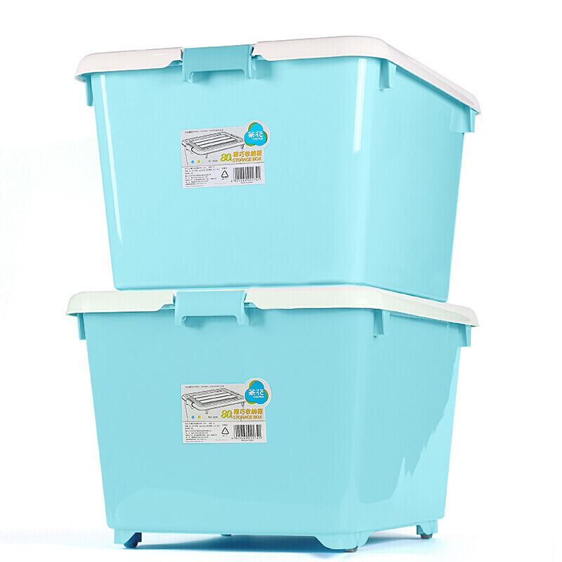 Durable Plastic Storage Container for Keepsakes and House Items