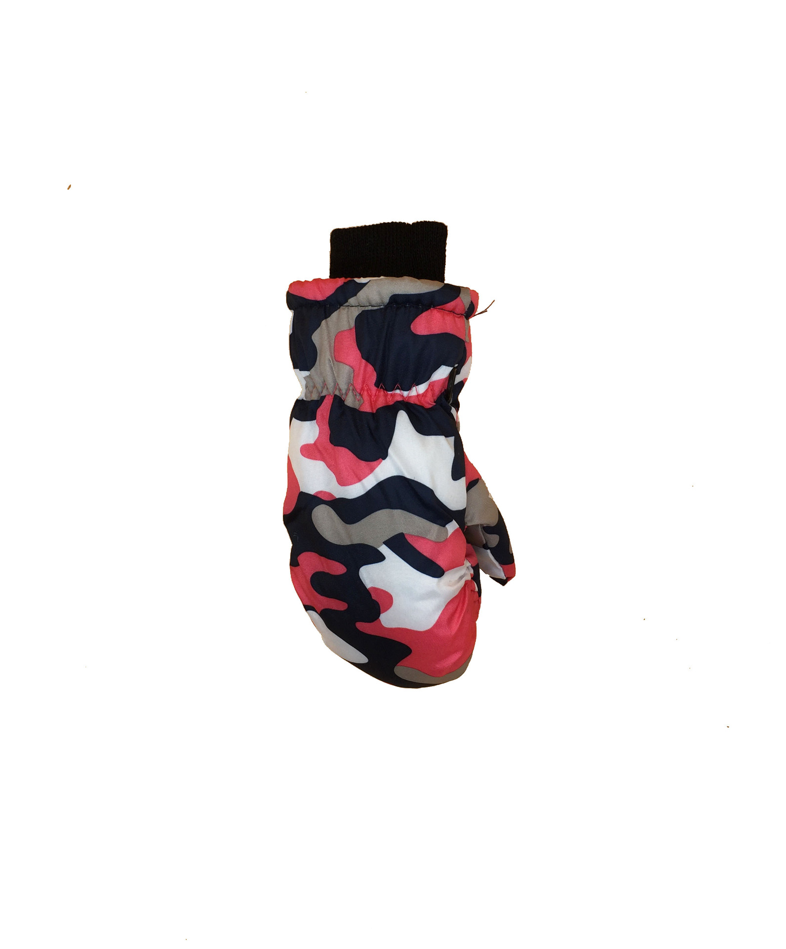 Thick Camouflage Snow Gloves for Children