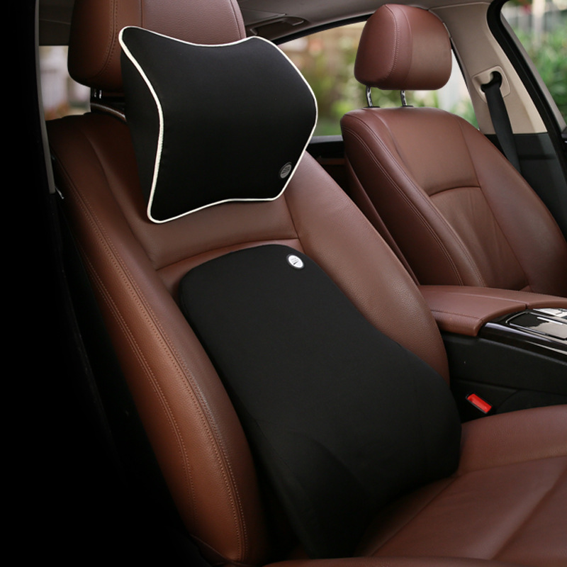 Glamorous Neck and Waist Support Pillow for Comfortable Car Seats