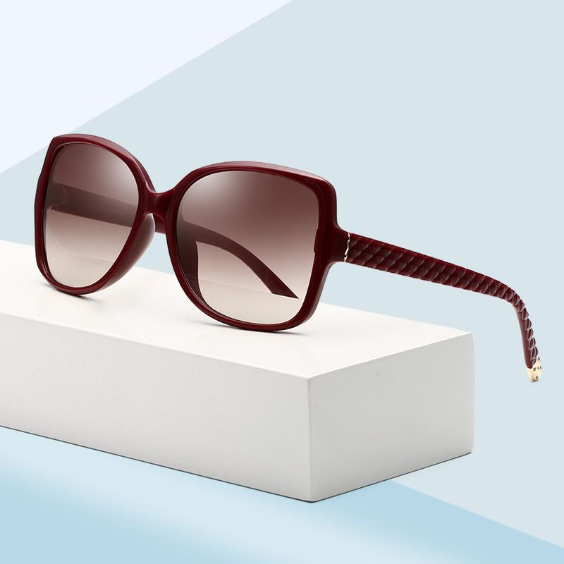 Fish Scales Temple Butterfly Sunglasses