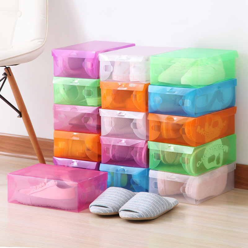 Dust-Proof Flip Cover Shoe Box for Organizing Sneakers