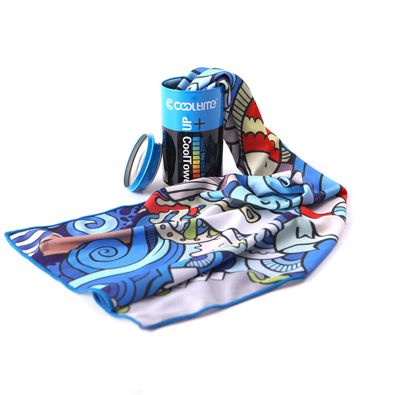 CoolTime Fashionable and Cooling Sports Towel