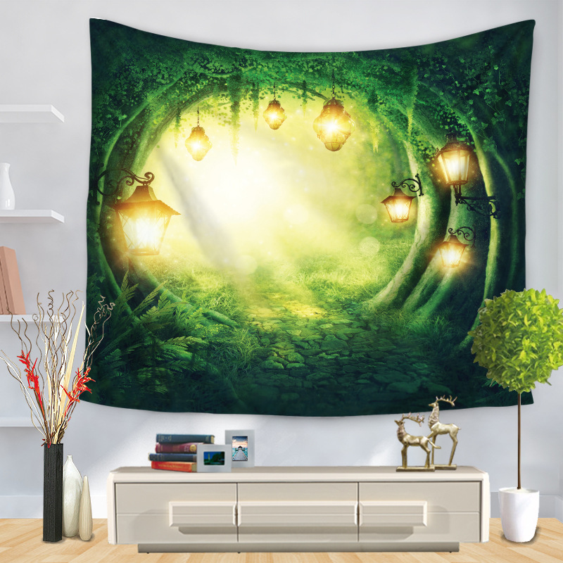 Mystical Trees Tapestry for Nature Lovers