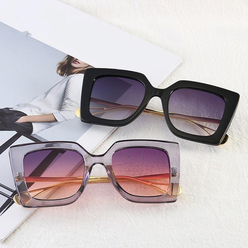 Square Pearl Leg Sunglasses