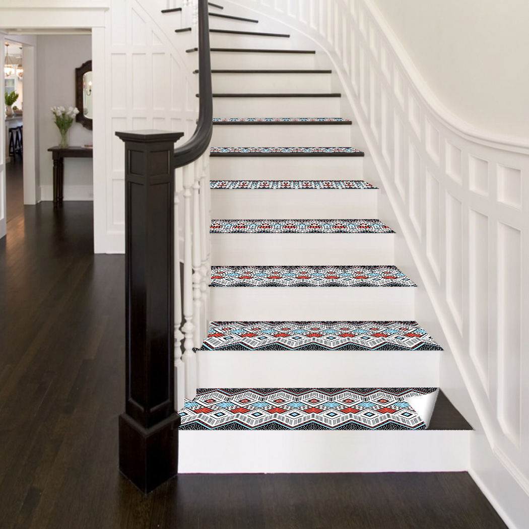 Creative Patterned Stairs Sticker for Added Home Decoration