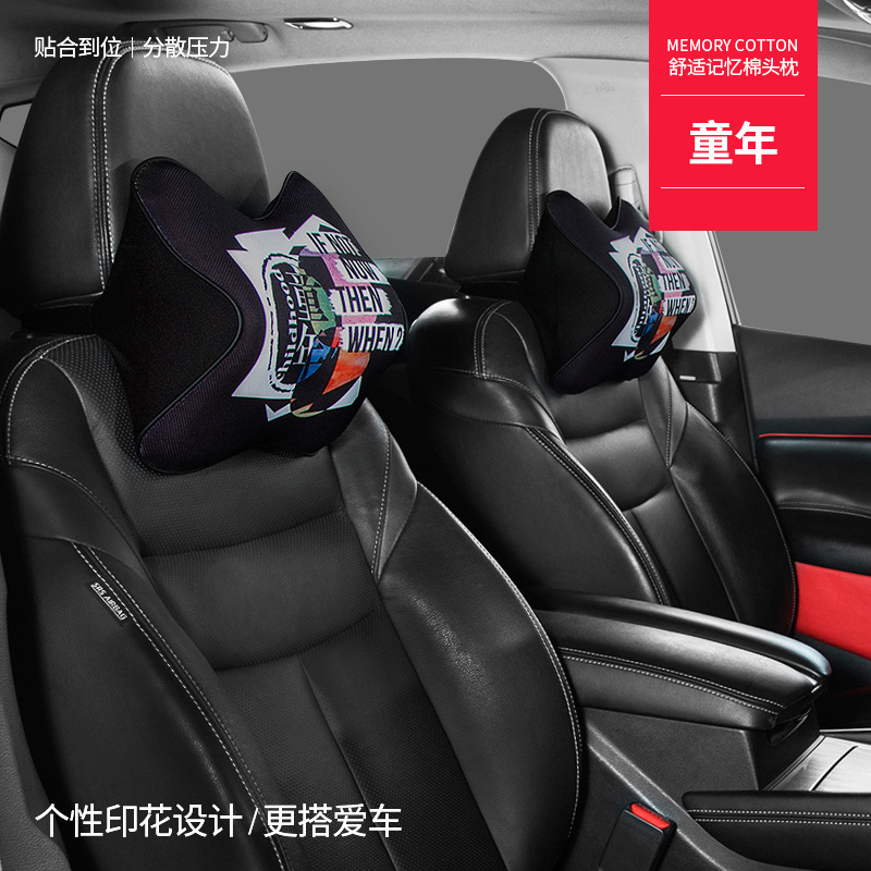Comfortable Cushioned Car Neck Pillow for a Comfortable Long Out of Town Drive