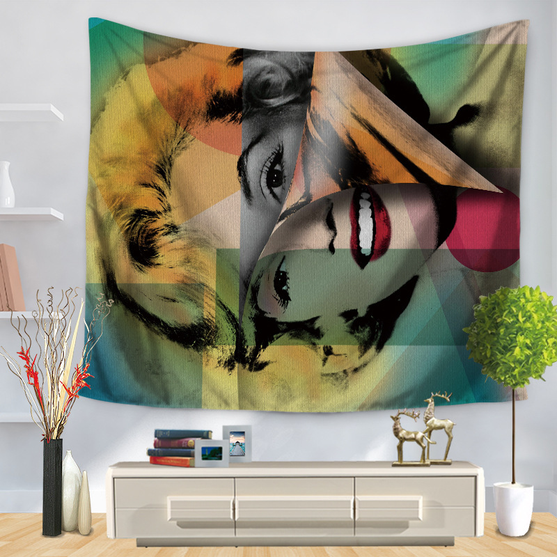 Adorable Famous Personality Tapestry for Living Room