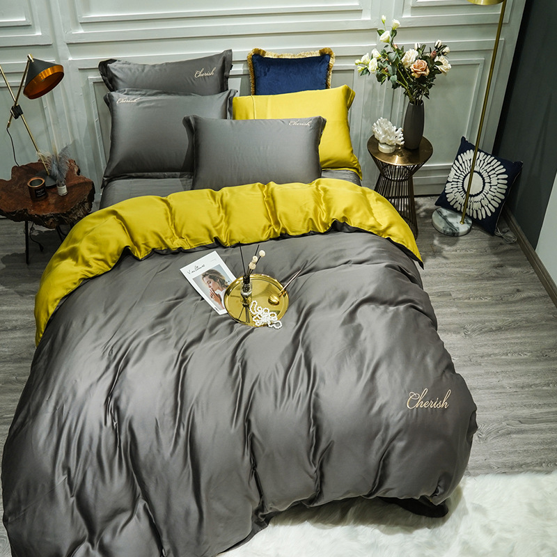 Silky Double Sided Bedding Set