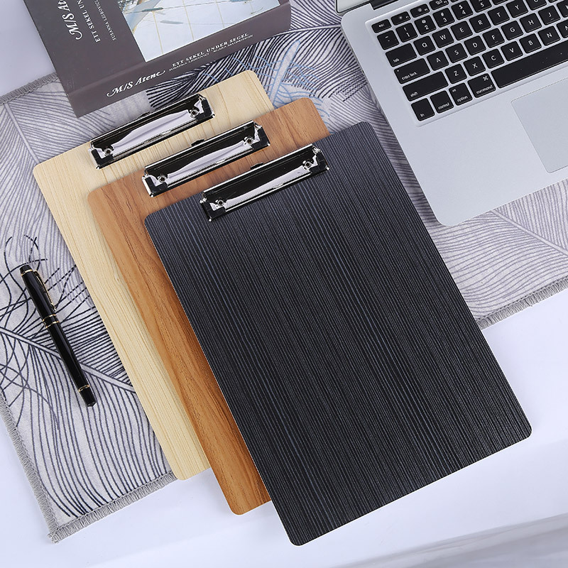 Sturdy Writing Board with Clip for Stationery