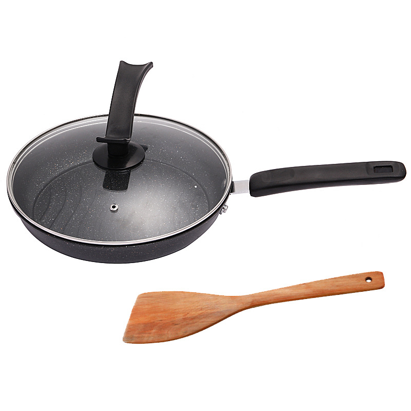 Fine Iron Frying Pan and Cover