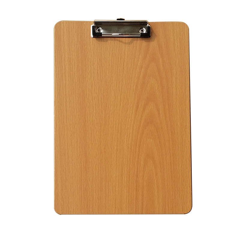 Classic Wooden Clipboard for Office Announcements