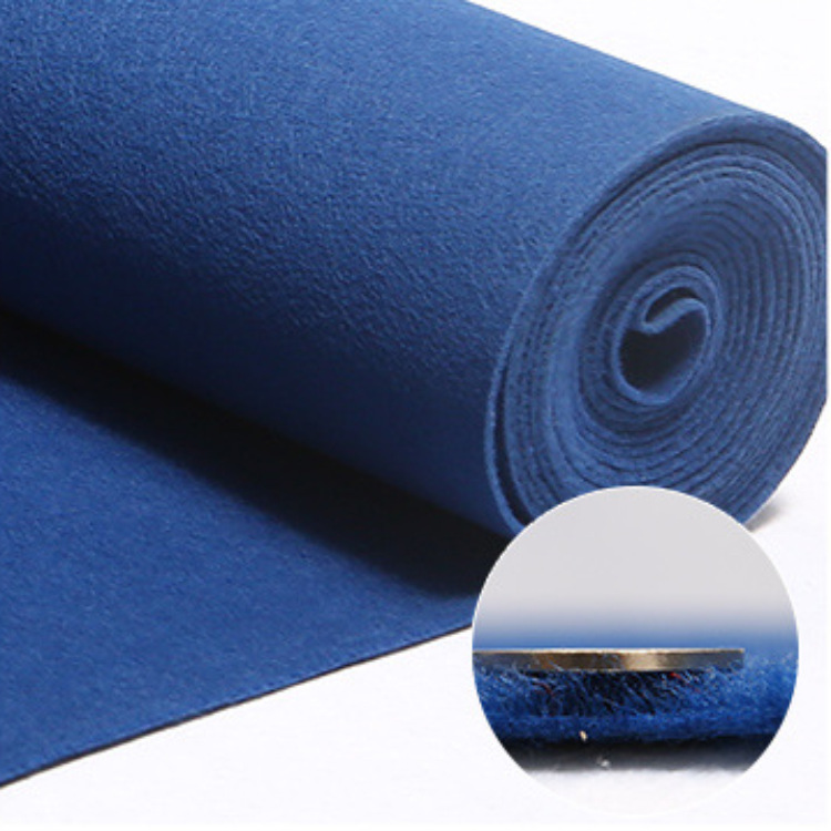 Thick Simple Pure Color Brushed Polyester Carpet for Home and Office