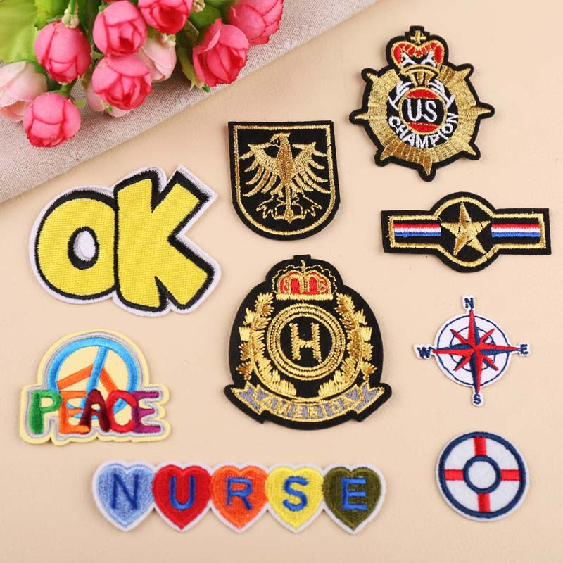 High Quality Patches for Styling Your Plain Tees
