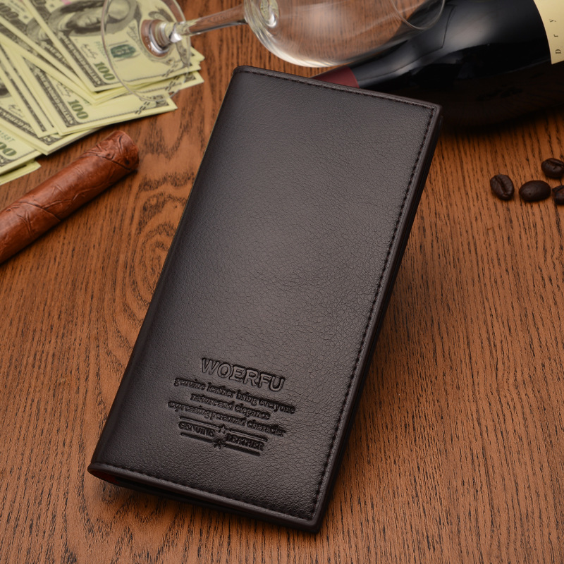 WOERFU Sleek Long Wallet
