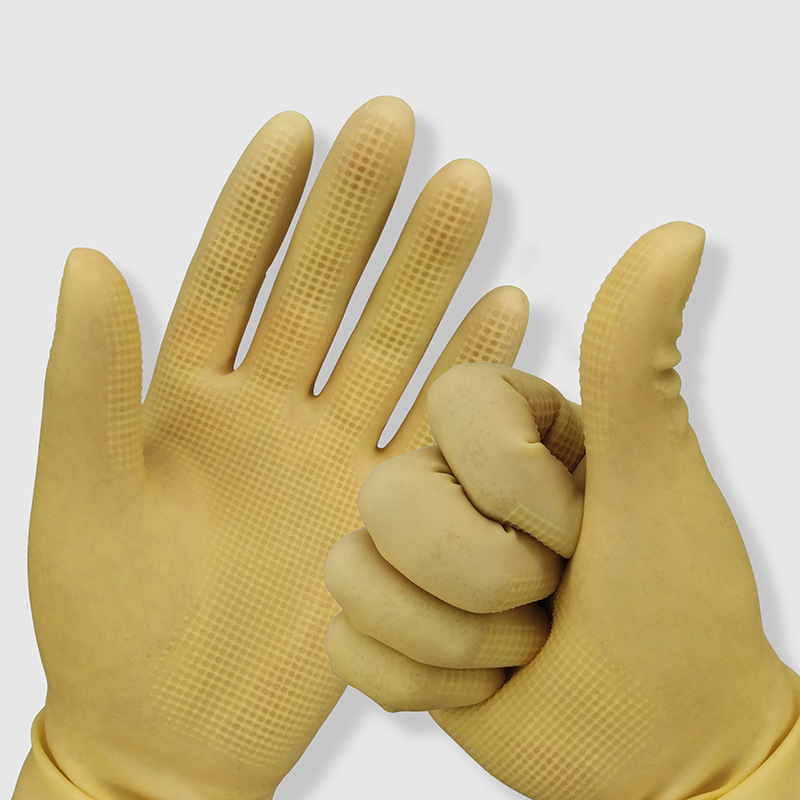 Heavy-Duty Latex Gloves for Doing Kitchen Chores