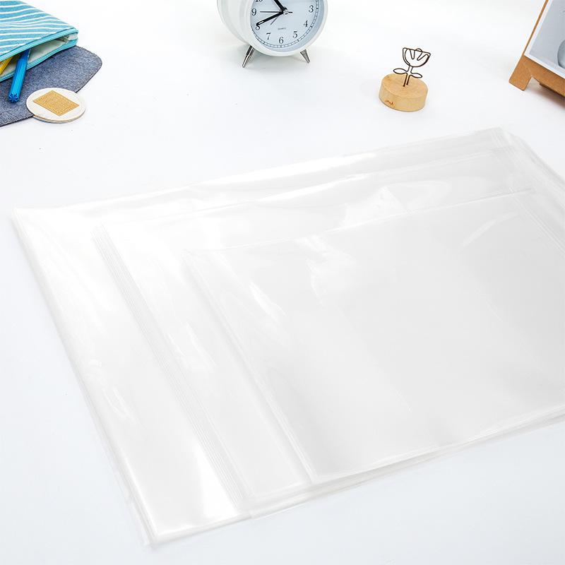 Multi-Sized Non-Slip Book Cover Sleeves Set (10 Pieces/Set)