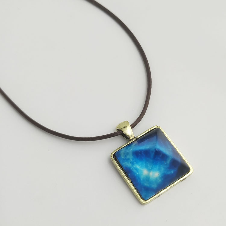 Dazzling Blue Stars Pendant Necklace for Bohemian Party Outfits