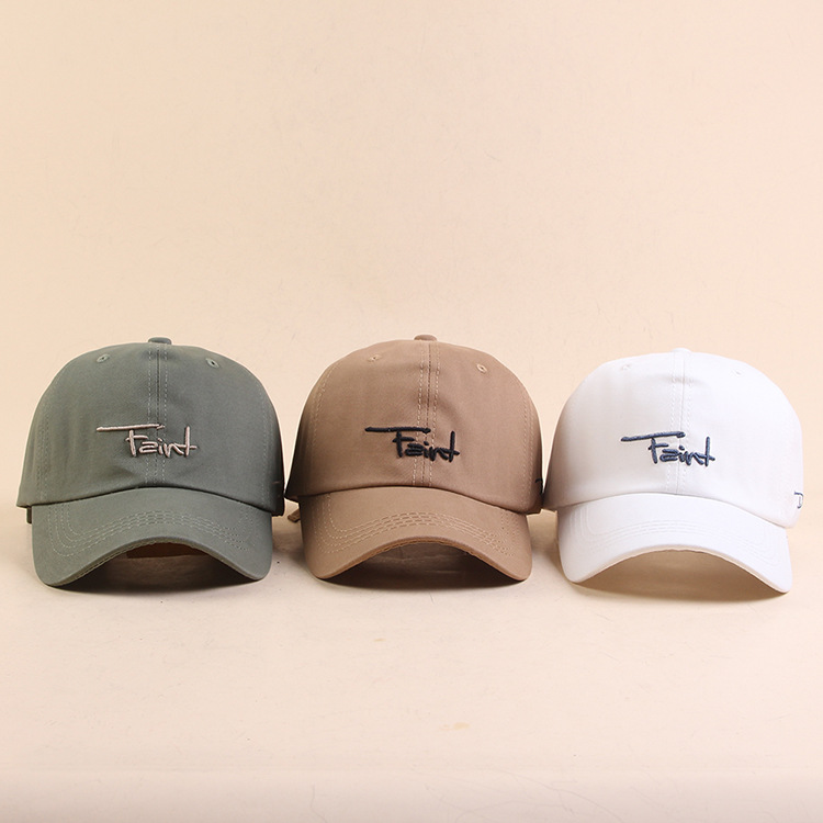 Trendy Embroidered Baseball Cap for Summer Travels