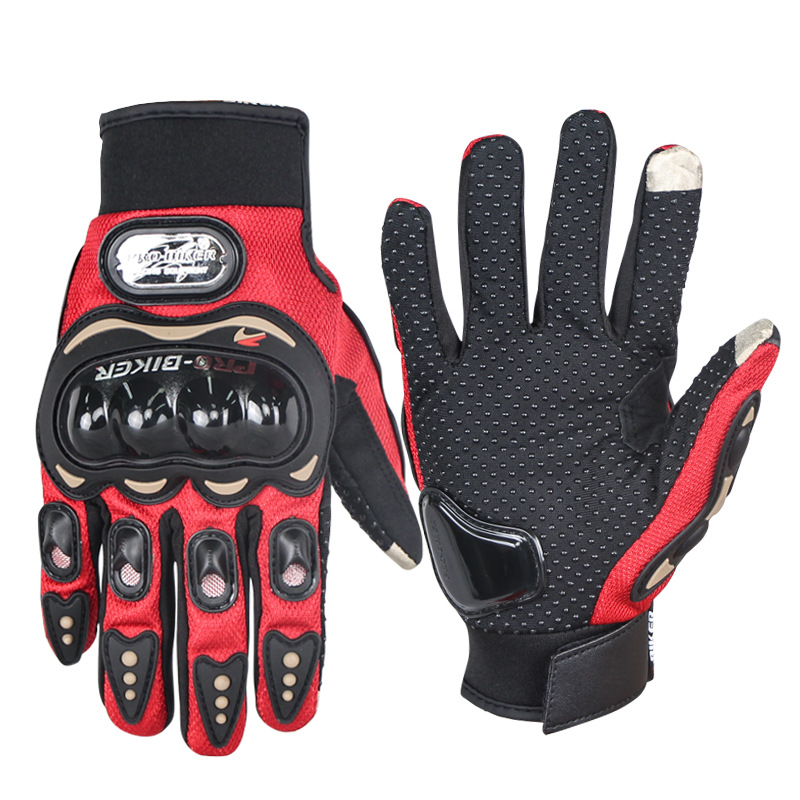 Anti-Skid Protective Gloves for Motorcycle Riding