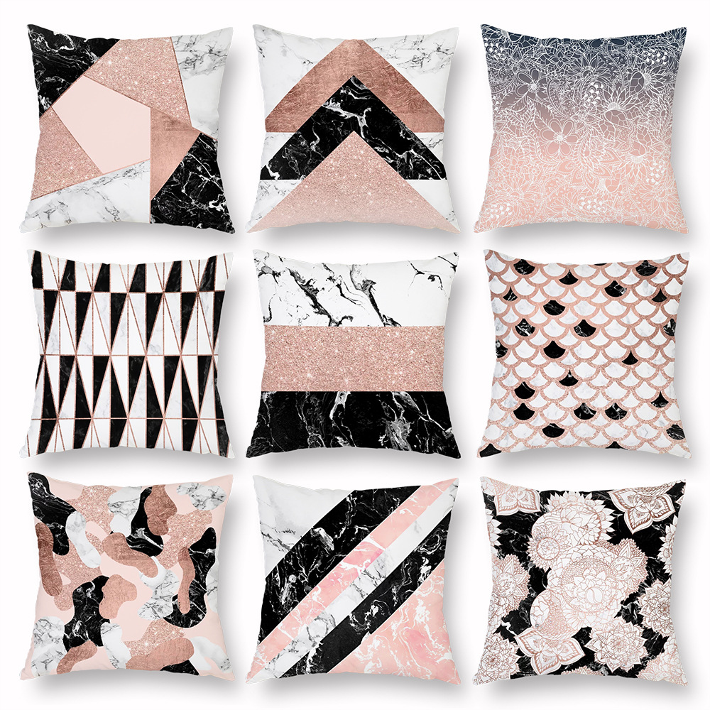 Graceful Printed Pillowcase for Bedroom