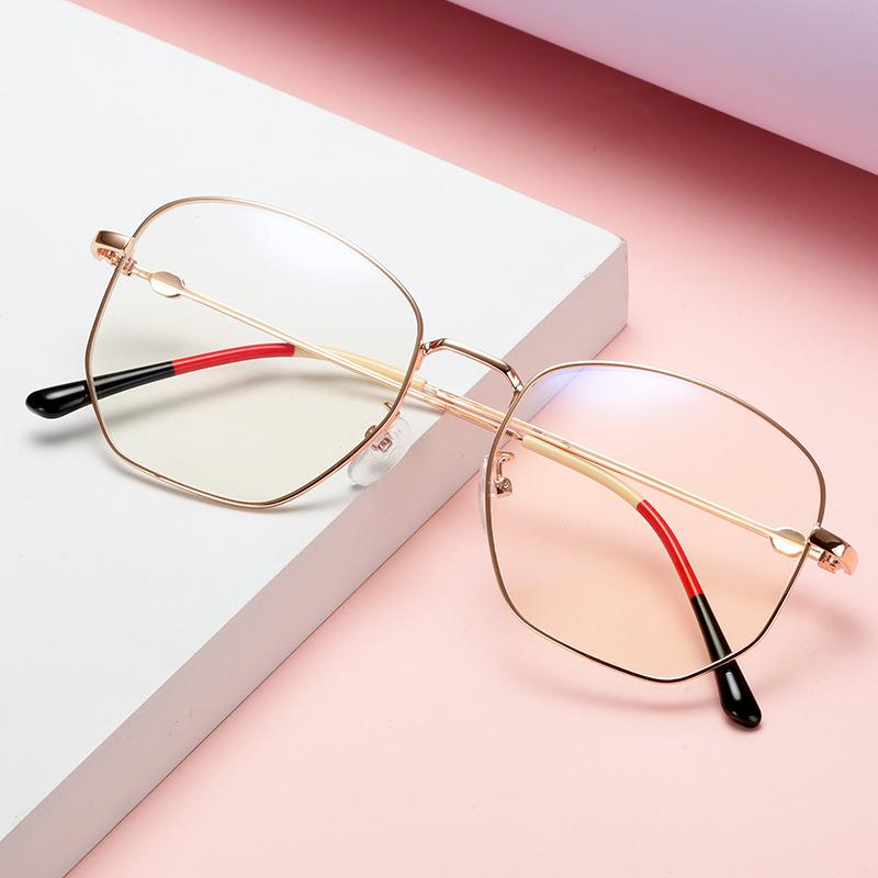 All Out Metal Rectangular Sunglasses