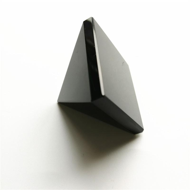 Obsidian Pyramid Figurine Paperweight