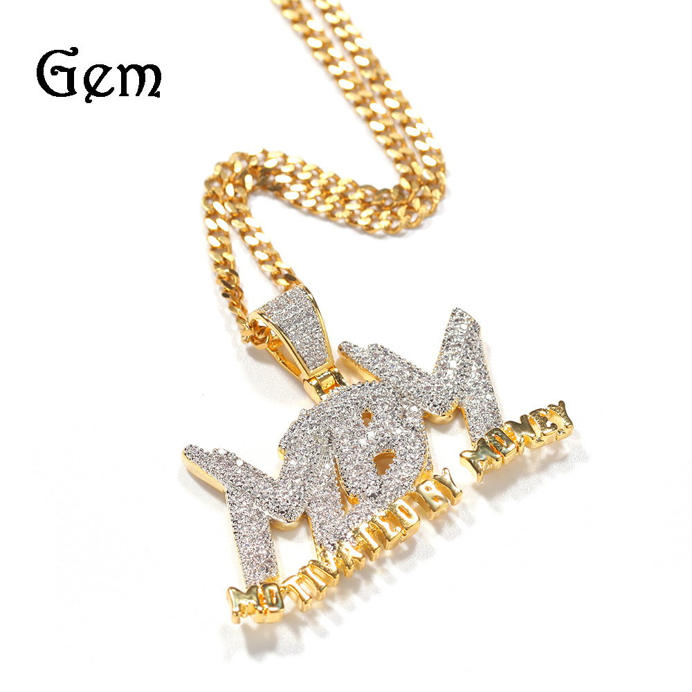 """Trendy """"MOTIVATED BY MONEY"""" Necklace for Hip-Hop Outfits"""