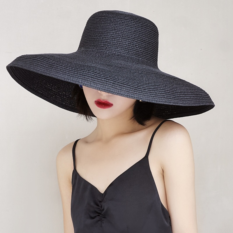 Fabulous Wide Brim Straw Hat for Fashionable Accessories