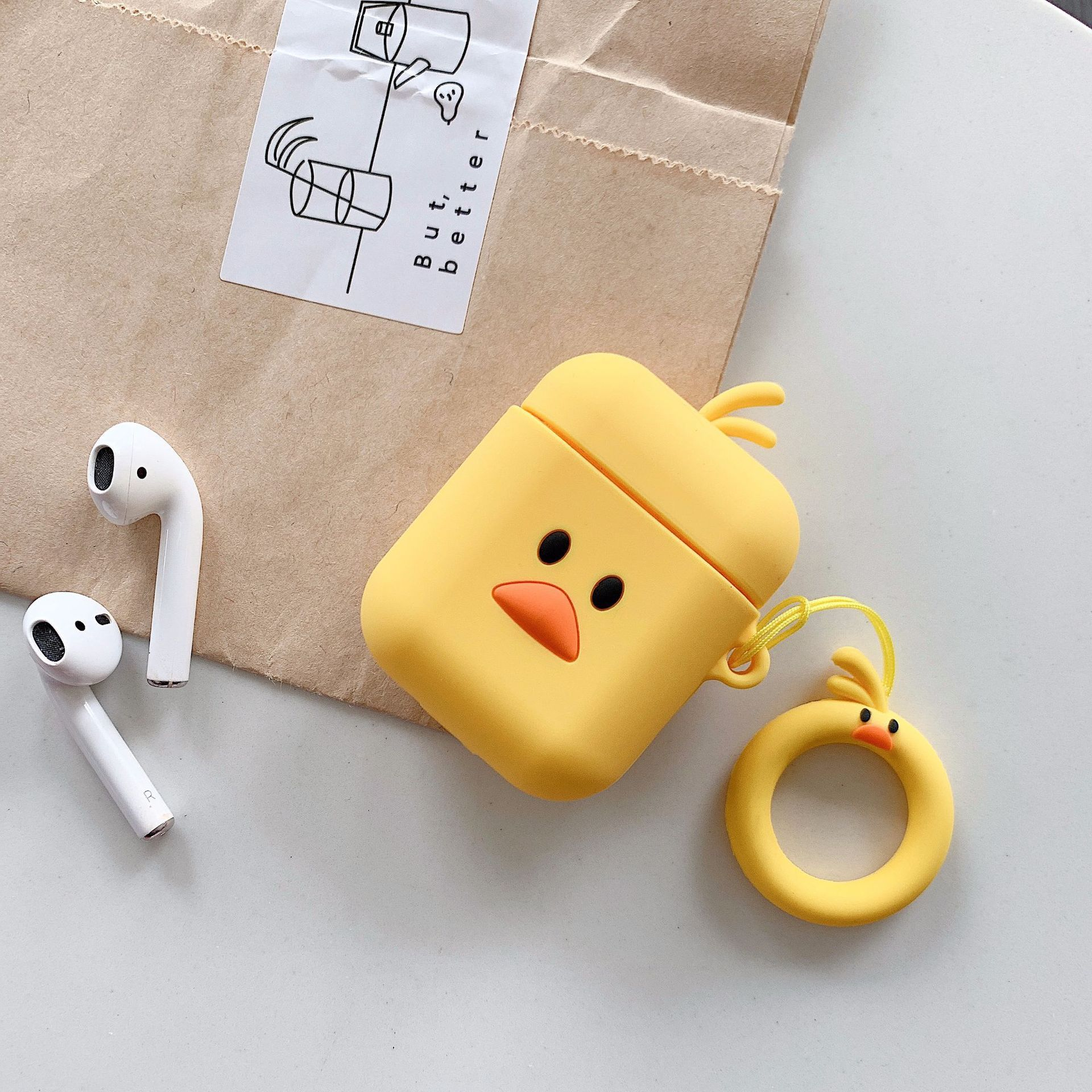 Cartoon Character AirPods Case