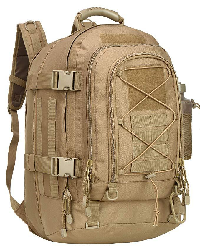 Large Capacity Oxford Cloth Tactical Backpack for Trekking