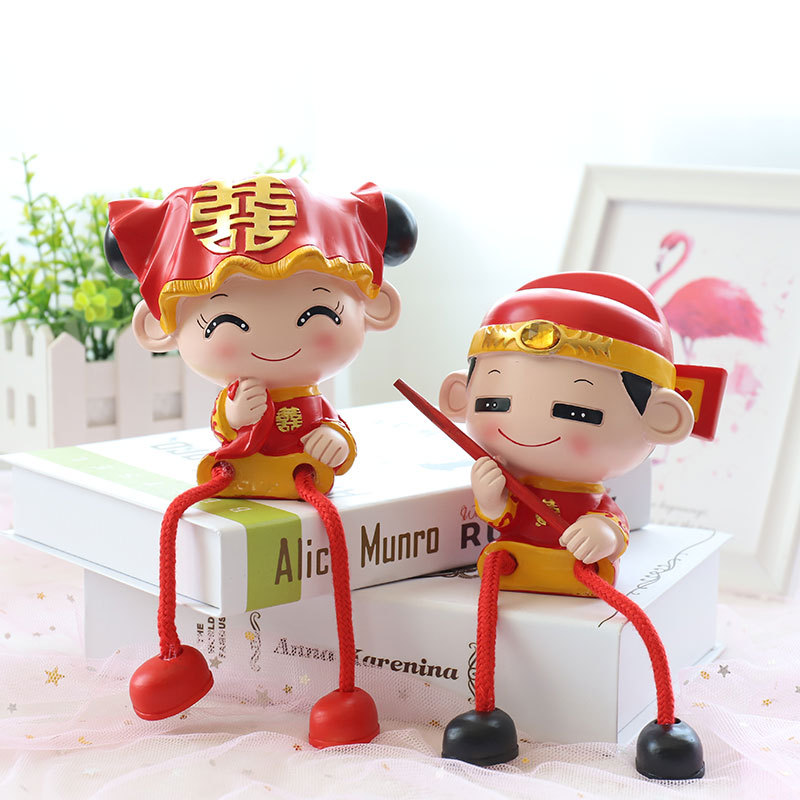 Chinese Bride and Groom Home Decor