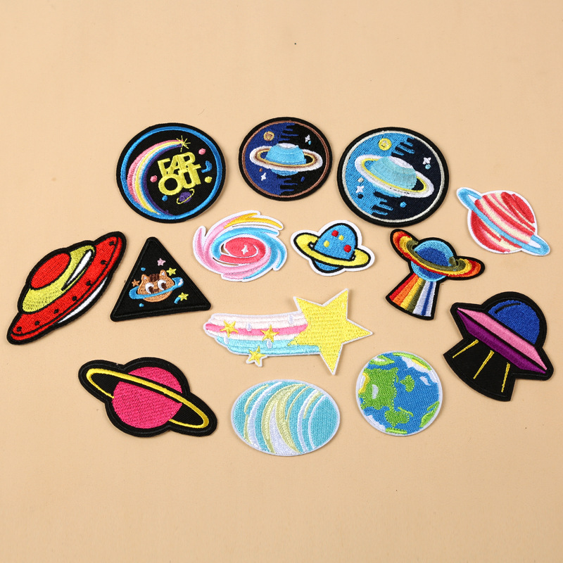 Galactic Patches for Out-of-This-World Looks